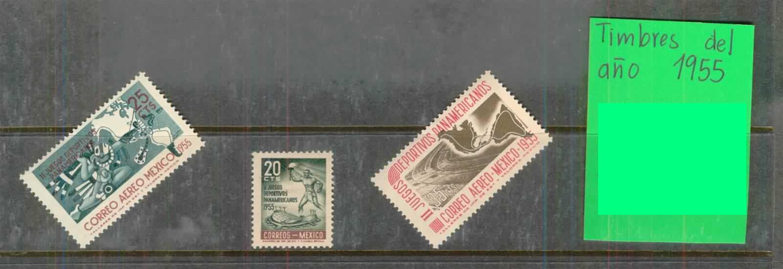 Anualidad Timbres Mexico-55